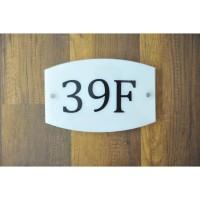 Nomor Rumah Akrilik / Sign Rumah Akrilik idea068