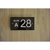 Nomor Rumah Akrilik / Sign Rumah Akrilik idea065