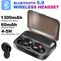 Headset Bluetooth LED Wireless Earbuds Tipe TWS F9 NEW