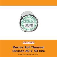 Kertas Roll Thermal ukuran 80 x 50 mm
