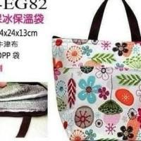 Tote Cooler Lunch Bag / Tas Bekal Besar Tahan Panas Dingin Insulated