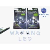 Lampu LED Speedometer Motor Mobil T5 3 Titik Luminos 9nine asli (SATU)