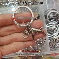 [BC0608] Gantungan Kunci Import Silver (Ganci)