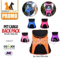 Pet Cargo Ransel / Pet Carrier / Tas Kucing / Tas Anjing / Pet Cargo