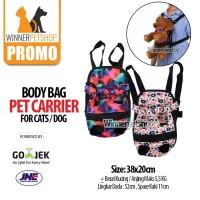 Pet Carrier / Tas Kucing / Tas Gendongan Anjing Kucing / Ransel Kucing