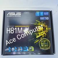 MOTHERBOARD ASUS H81M-K SOCKET 1150 BOX PI