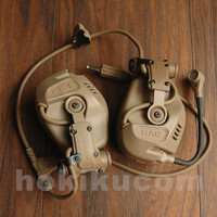 FMA FCS RAC Rail Attached Communication System Style Tactical Headset