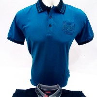 SumberRejekiJeans - Baju Kaos Polo Pria Merk Hugo Sport Bagus Dingin