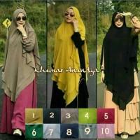 Khimar hijab jilbab syari kerudung Anindya ceruty babydoll