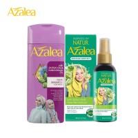 Paket Azalea Shampoo Zaitun Oil + Azalea Hijab & Body Mist