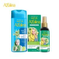 Paket Azalea Shampoo Citrus + Azalea Hijab & Body Mist