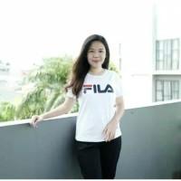 T-Shirt Fila Kaos Fila Pakaian Wanita Baju Cewek Kaos Unik Murah