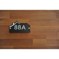 Nomor Rumah Akrilik / Sign Rumah Akrilik idea075
