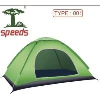 Tenda Camping /Kemah/Outdoor/Pantai speeds 2-3orang 200x150 lx008-1 -