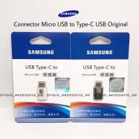 Converter Samsung Micro USB To Type C USB Connector Mikro Ke Tipe C
