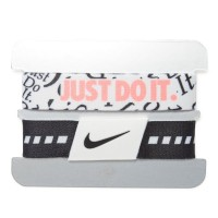 Aksesoris Basket Nike 2PK Baller Band Black Pink Original N.000.2506.9