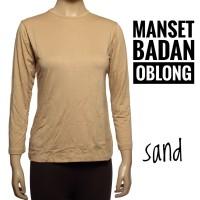 Manset Badan Oblong Kaos spandex Rayon