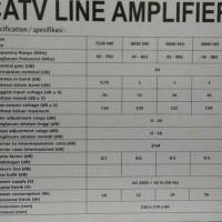 Catv Line Amplifier Booster Besar 2 Way 8830Mk