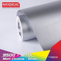 MAX DECAL MATTE CHROME SKOTLET MOTOR LENTUR METALLIC DOFF ROLL 50 CM