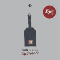 Tuck Navy Luggage Tag