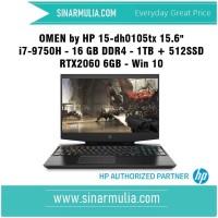 Omen i7-9750H - 16 GB DDR4 - 1TB + 512SSD RTX2060 6GB - Win 10