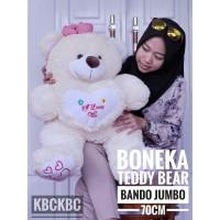 Boneka Teddy Bear Bando Jumbo