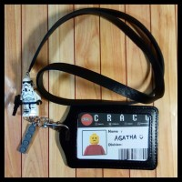 New Lanyard Id Card Holder Name Tag Lego Stormtrooper