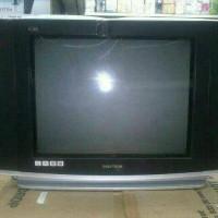 PROMO TV TABUNG FLAT SLIM POLYTRON 52UV81