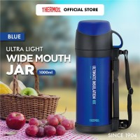 Thermos Ultra Light Wide Mouth Jar - Blue 1000ml (FFW-1000-BL)