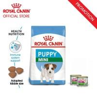 Royal Canin Puppy Mini Makanan Anak Anjing Dry 2kg & 2 Wet Food
