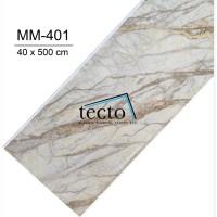 TECTO Plafon PVC Premium MM-401 ( 40 cm x 500 cm )