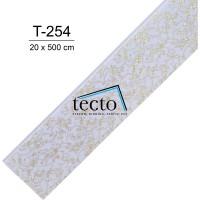TECTO Plafon PVC Import T-254 ( 20 cm x 500 cm )