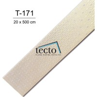 TECTO Plafon PVC Import T-171 ( 20 cm x 500 cm )