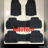 Karpet Mobil Universal Fine Future Isi 4Pc Grey