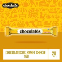 CHOCOLATOS WHITE Sweet Cheese- 16gr (WJU8) / Showboks