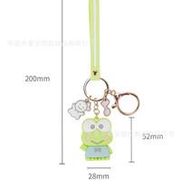 Keychain Hello Kitty Melody Badz Kerokeropi Sanrio Gantungan Kunci