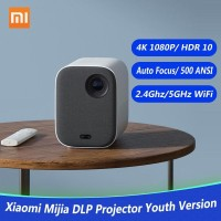XIAOMI Mijia Projector DLP 1080P 4K Video 500 ANSI Lumens Proyeksi HDR