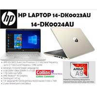 """LAPTOP HP 14-DK0023AU/DK0024AU - AMD A9-9425 4GB 1TB RADEON R5 14"""" W10"""