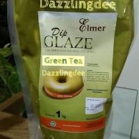Elmer Dip Glaze Green Tea 1 Kg / Selai Greentea Elmer Chocomaltine