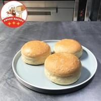Supplier UMKM| Roti Burger Wijen PREMIUM Hotel Murah|Burger Bun Bakar
