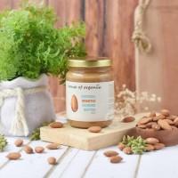 HouseOfOrganix Natural Almond Butter Original - 250 Gr
