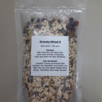 Healthy Granola Mixed A 500 gram ( Cranberry , Raisin , Seed , Oat )