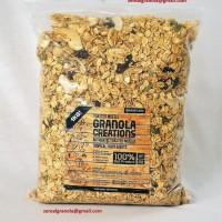 Granola Creation Tropical Fruit & Nuts 1 Kg toasted muesli sereal