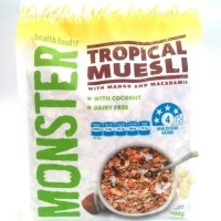 Monster Tropical Muesli With Mango and Macadamia 700gr