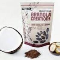 Granola Creations Dark Chocolate and Banana
