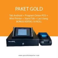 Paket Gold Mesin Kasir Android ONION POS