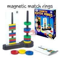 Zoetoys Magnetic Match Rings | mainan edukasi | mainan anak | edutoys
