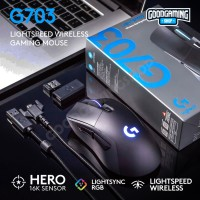 Logitech G703 Hero Wireless Gaming Mouse - 2 Year Official Warranty