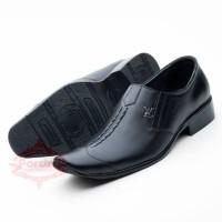 PROMO TERMURAH! Sepatu Pantofel Kerja Kantor Pesta Kulit Asli Fordza