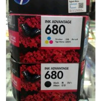 Hp 680 Black Color Original Harga 1Set